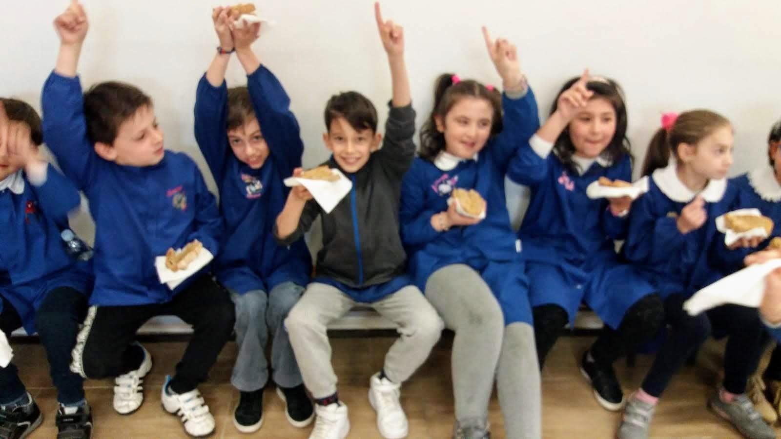 Pane e olio merenda sana a scuola