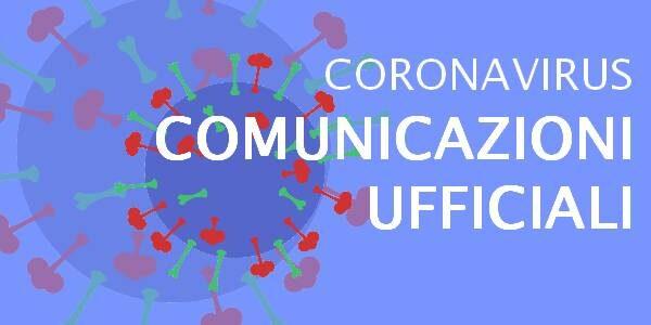 Comunicazioni covid-19